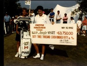Wyatt 1st LPGA win